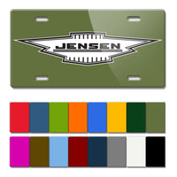Jensen Vintage Logo Novelty License Plate