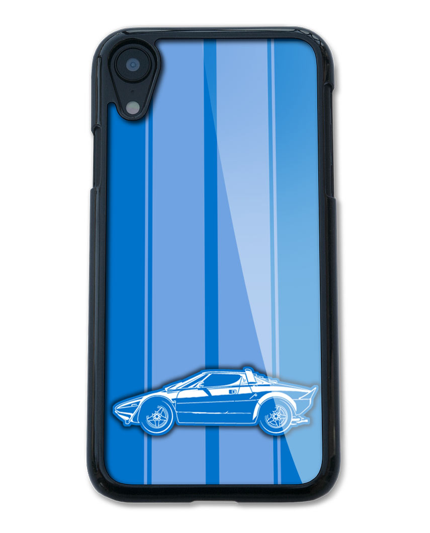 Lancia Stratos Coupe Smartphone Case - Racing Stripes