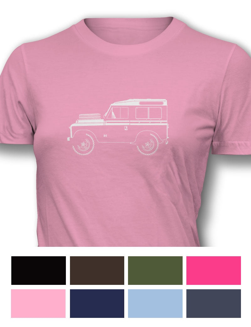 Land Rover 1948 Series I Women T-Shirt - Side View