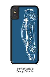 Porsche 356B Carrera Smartphone Case - Side View