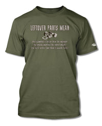 Left Over Parts T-Shirt - Men - Mechanic