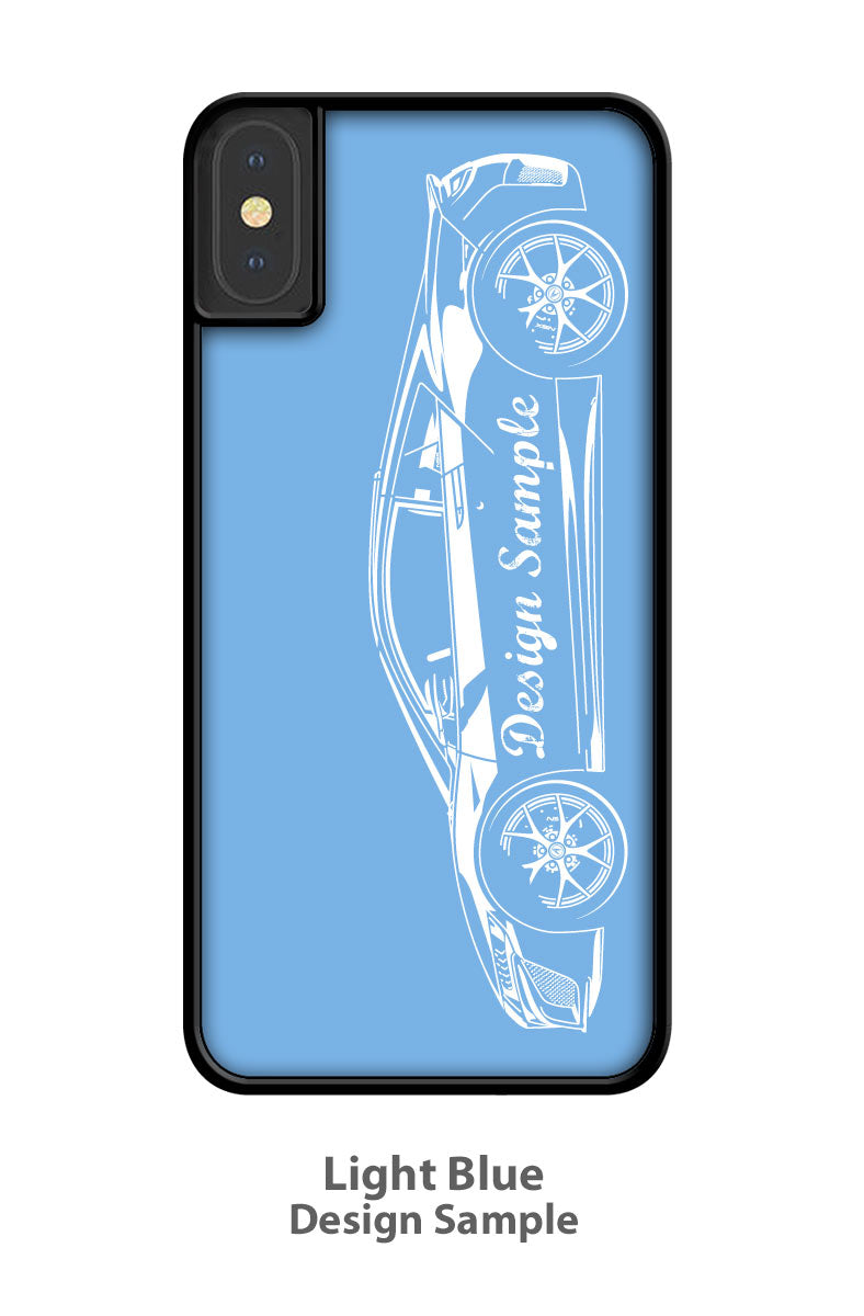 1970 Dodge Challenger Base Convertible Smartphone Case - Side View