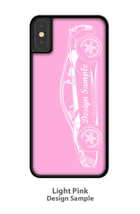 Volkswagen Kombi Bus Samba 21 windows Smartphone Case - Side View