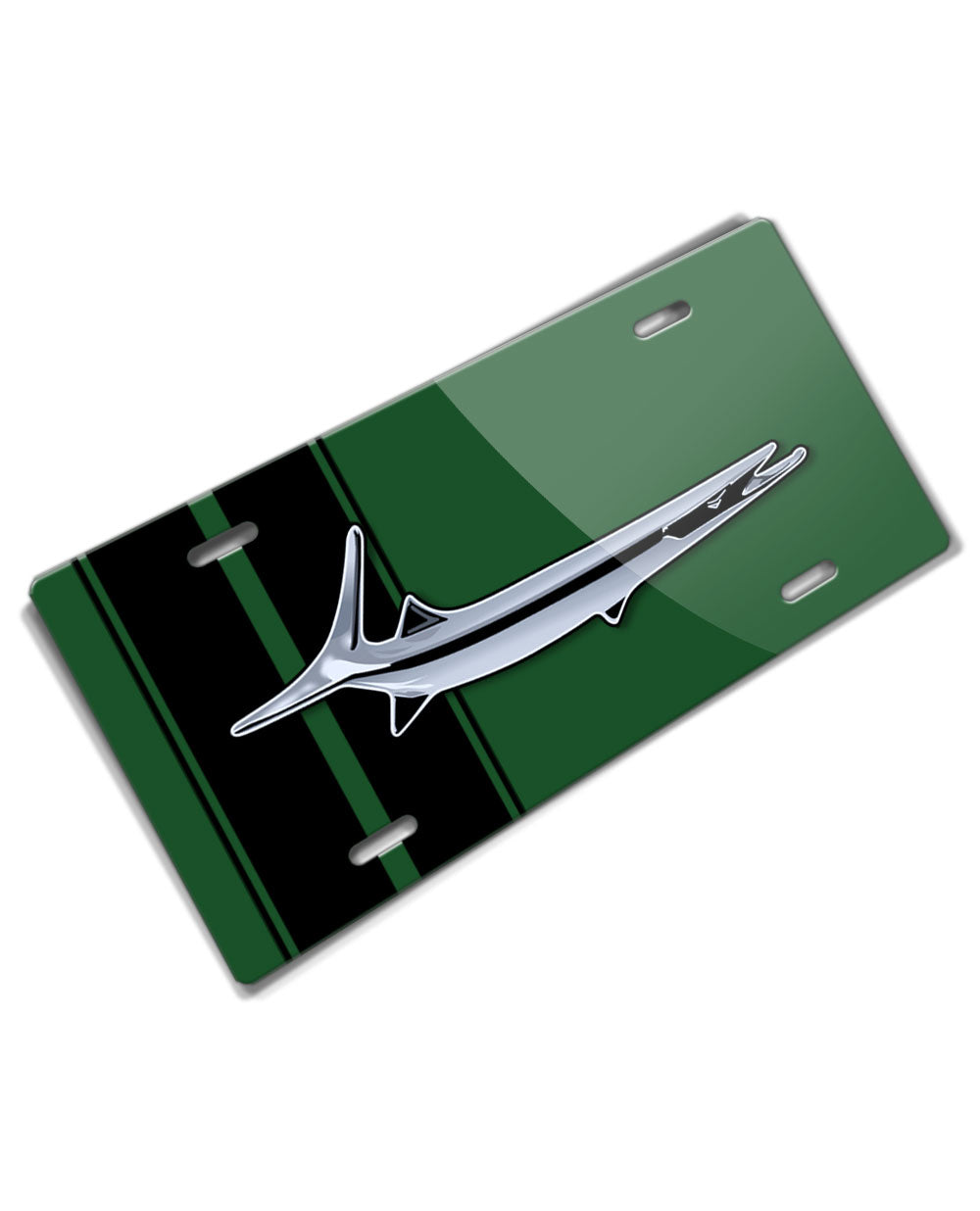 1964 - 1969 Plymouth Barracuda 'Cuda Fish Emblem Novelty License Plate