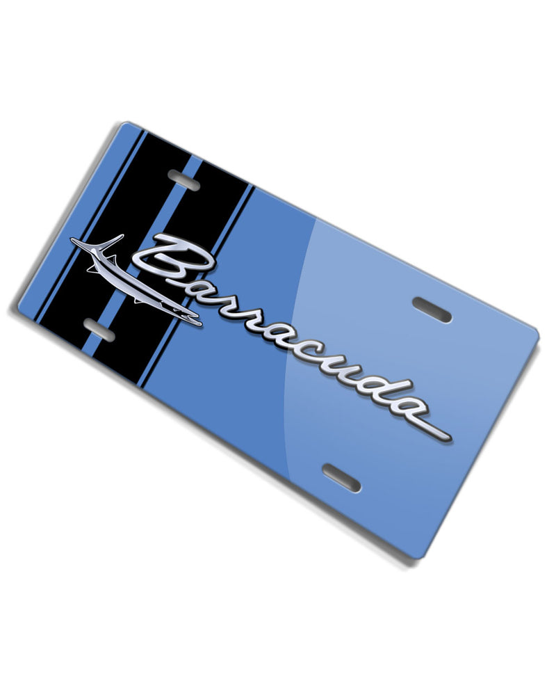 1964 - 1969 Plymouth Barracuda Emblem Novelty License Plate