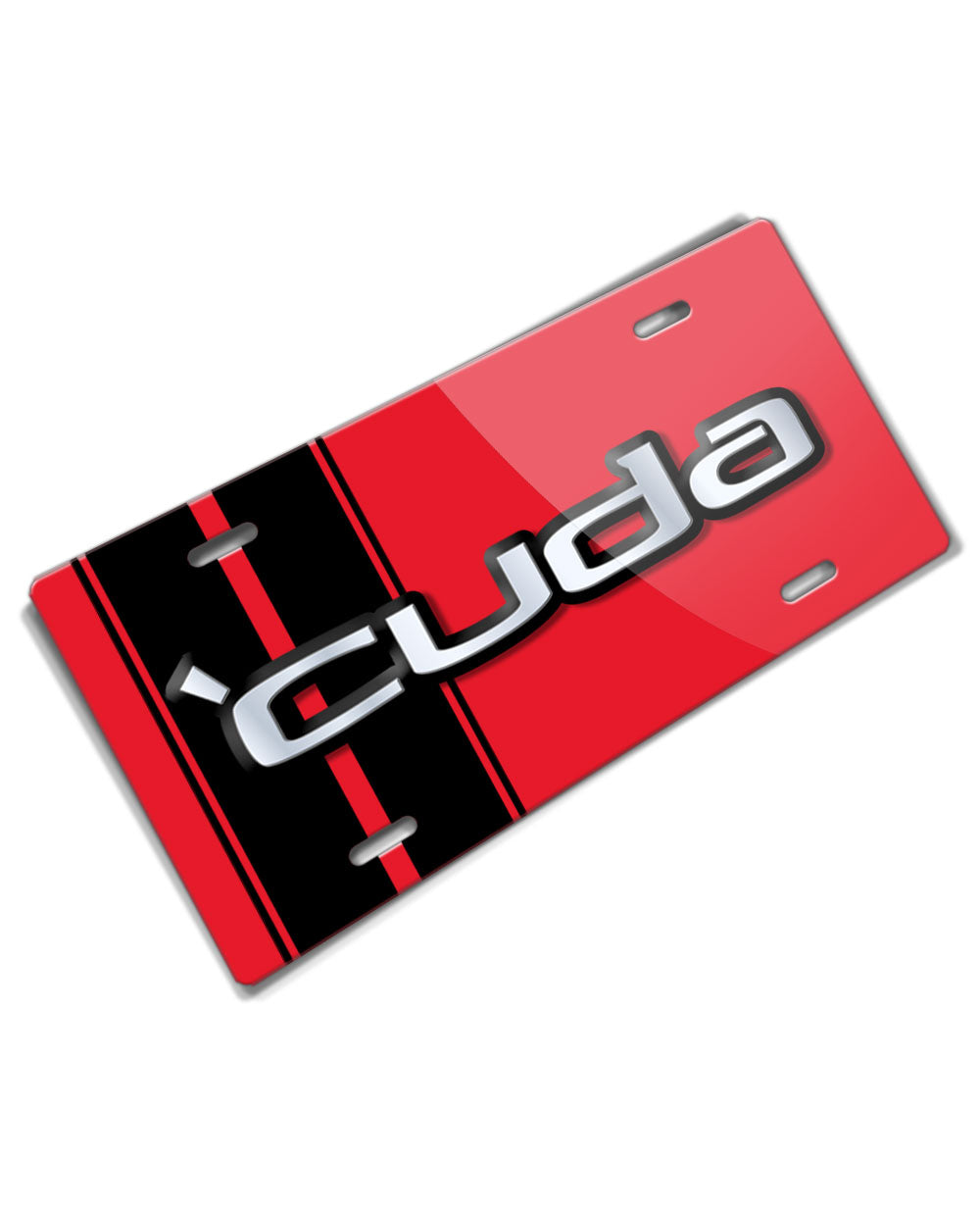 1970 - 1974 Plymouth 'Cuda Emblem Novelty License Plate