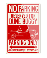1964 Meyers Manx Buggy VW Reserved Parking Only Sign