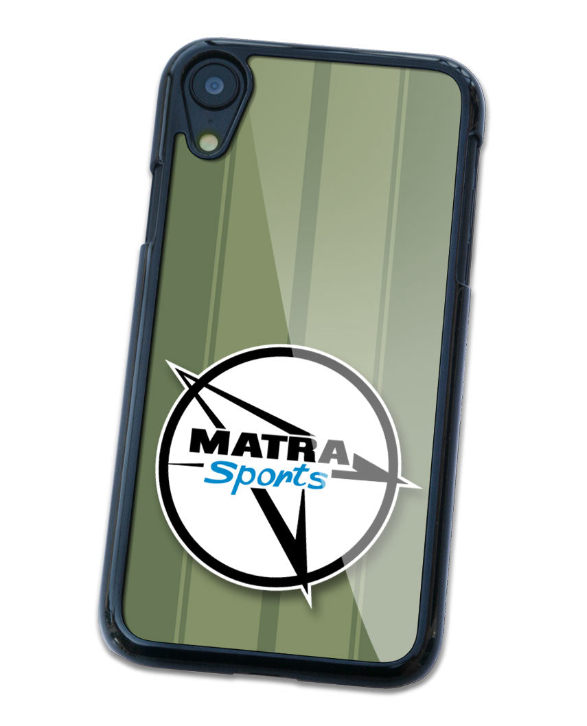 Matra Badge Emblem Smartphone Case - Racing Stripes