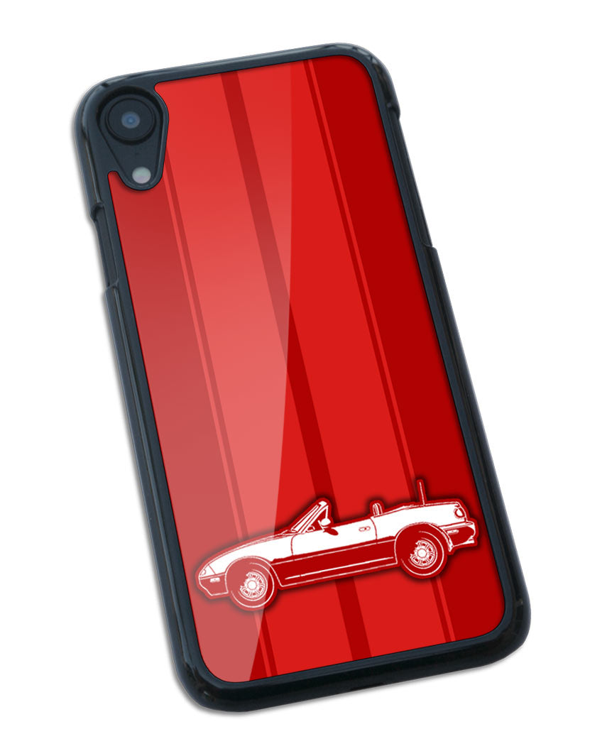 Mazda Miata MX-5 Convertible Smartphone Case - Racing Stripes