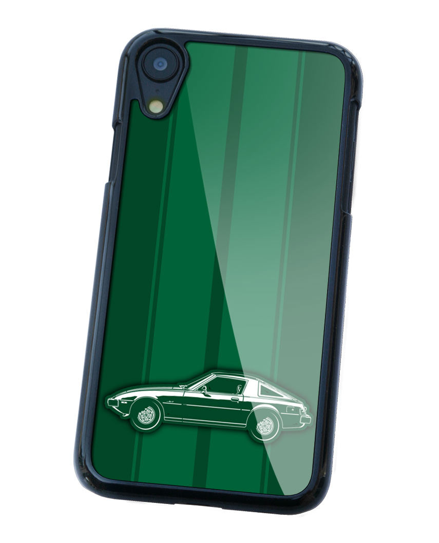 Mazda RX-7 S1 First generation 1978 - 1985 Smartphone Case - Racing Stripes