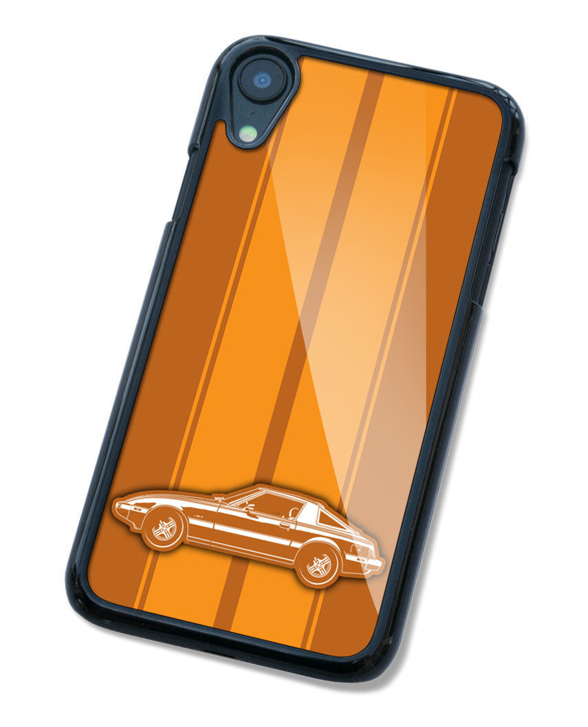 Mazda RX-7 S2 First generation 1978 - 1985 Smartphone Case - Racing Stripes