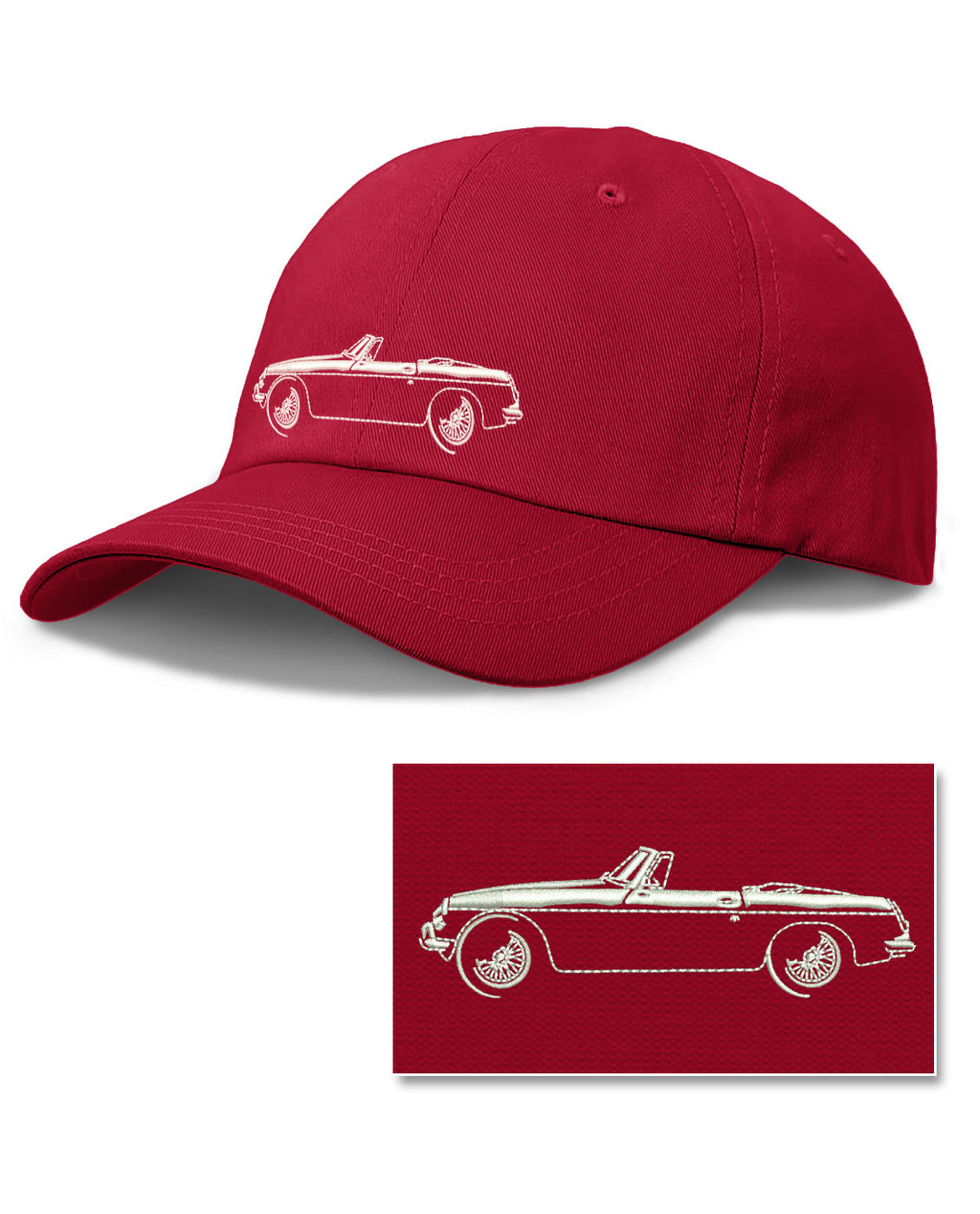 MG MGB Convertible Baseball Cap for Men & Women