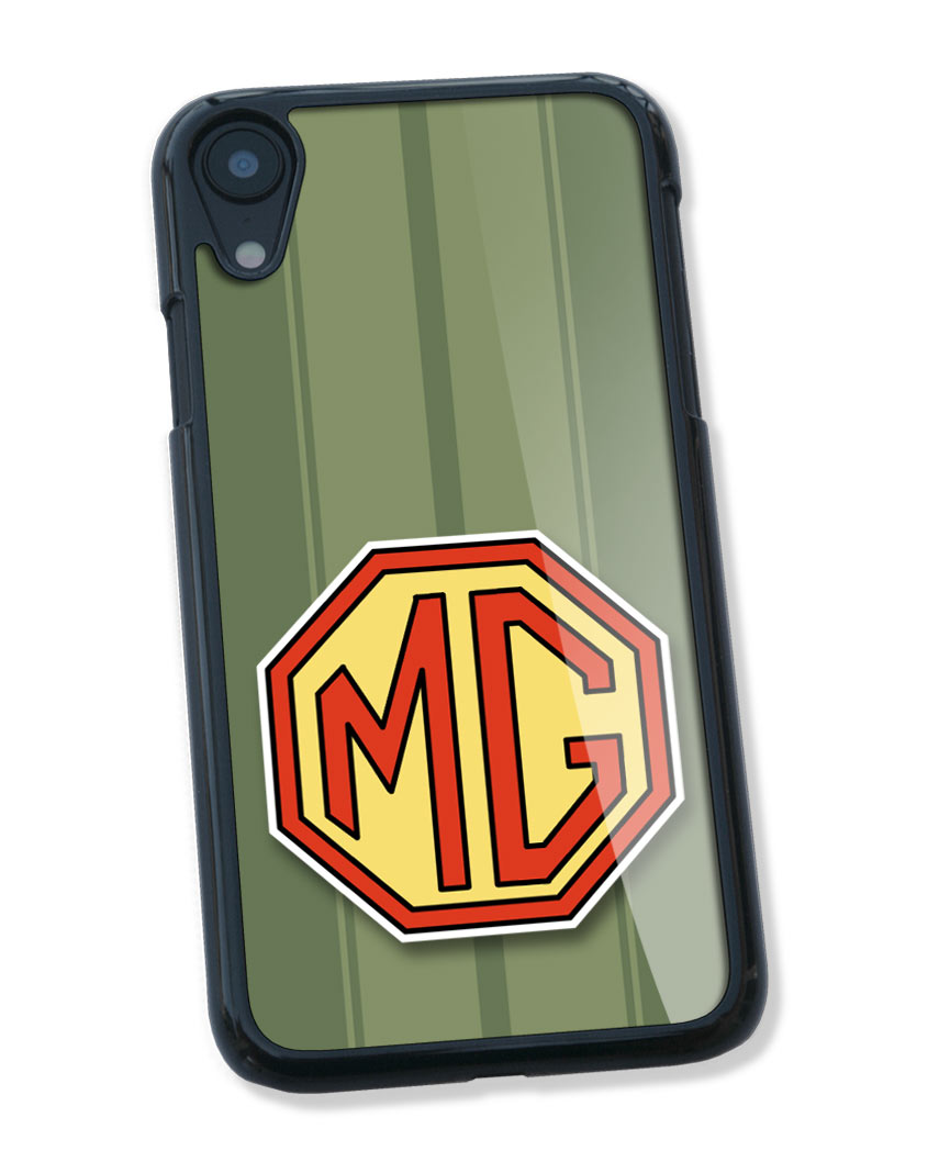 MG Badge Emblem Smartphone Case - Racing Stripes