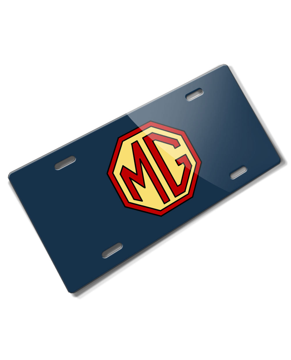 MG Badge Emblem Novelty License Plate - Vintage Emblem