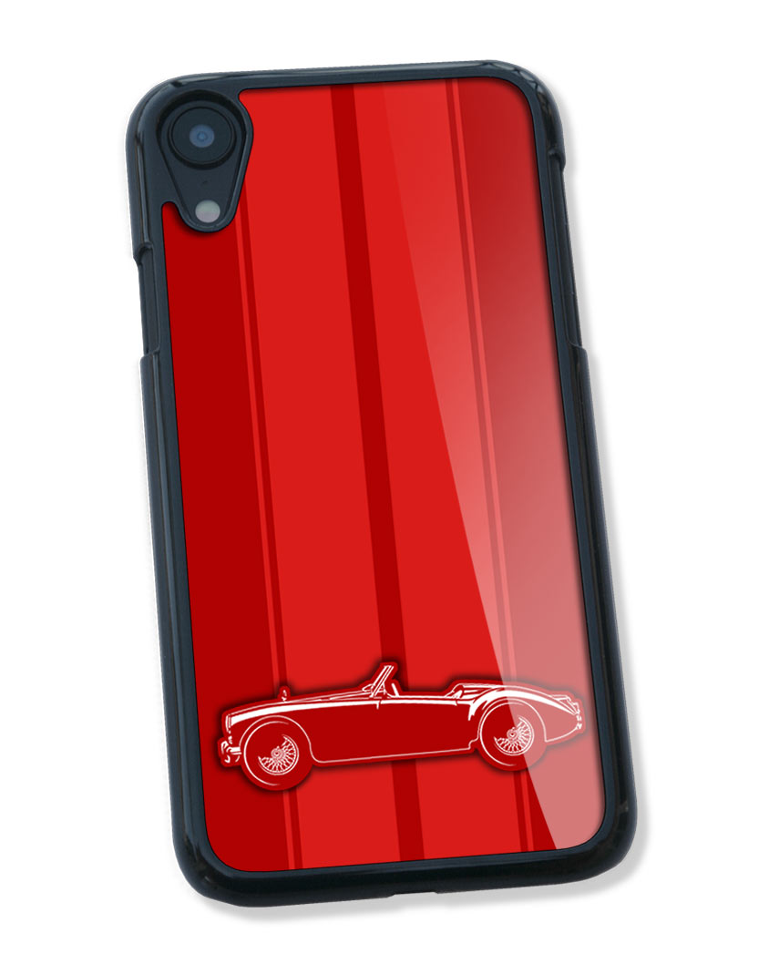 MG MGA Convertible Smartphone Case - Racing Stripes