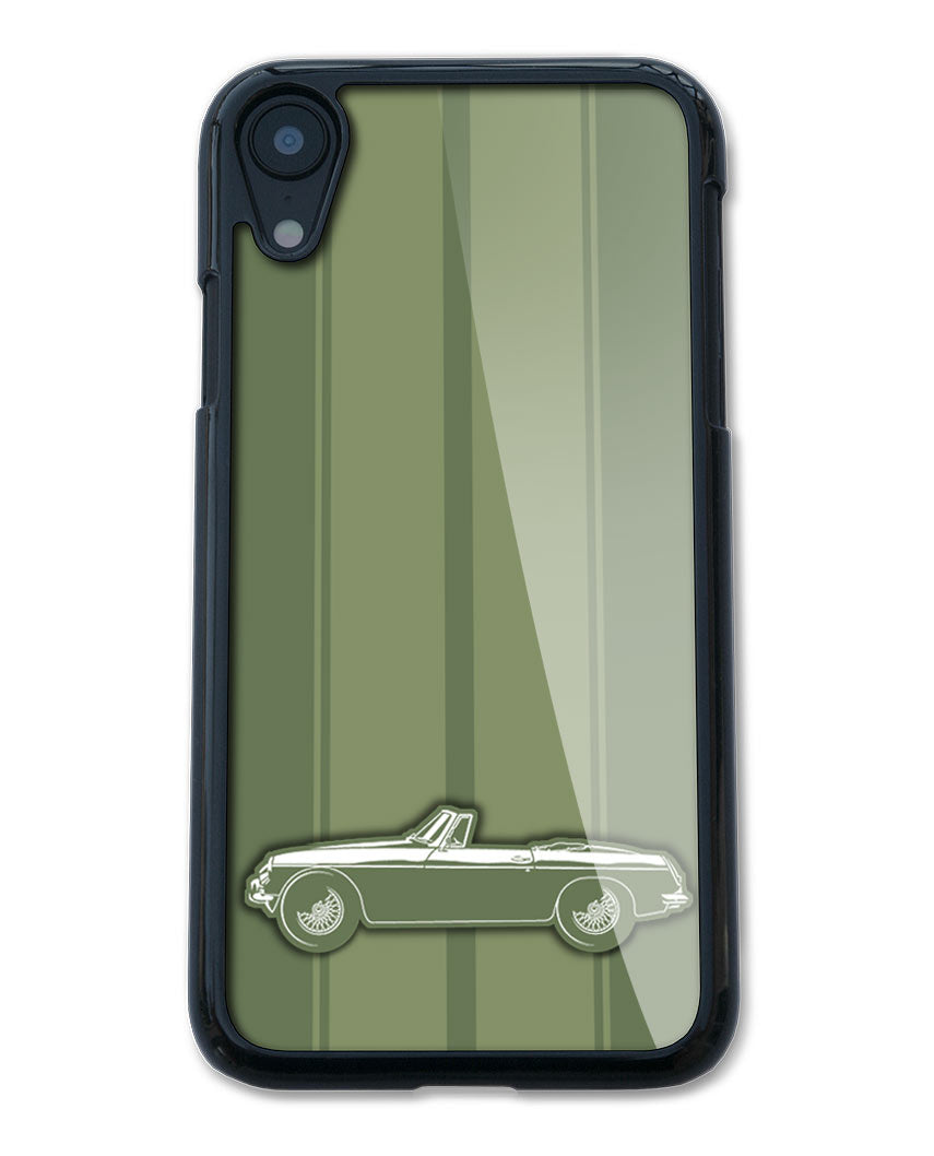 MG MGB Convertible Smartphone Case - Racing Stripes