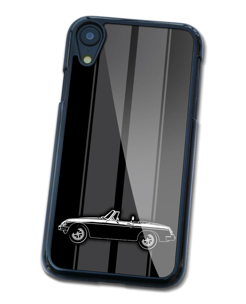 MG MGB MKIII Convertible Smartphone Case - Racing Stripes