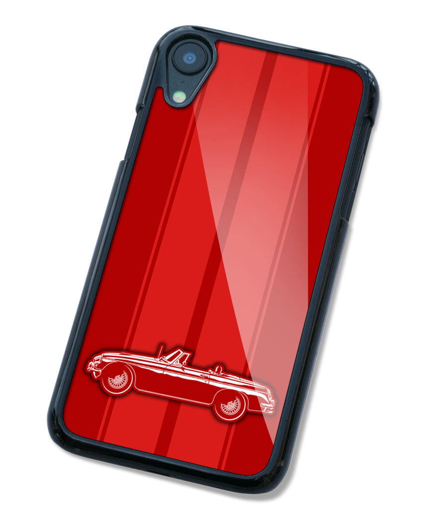 MG MGC Convertible Smartphone Case - Racing Stripes