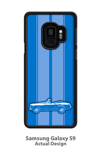 MG Midget Convertible Smartphone Case - Racing Stripes