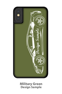 Alfa Romeo Montreal Coupe Smartphone Case - Side View