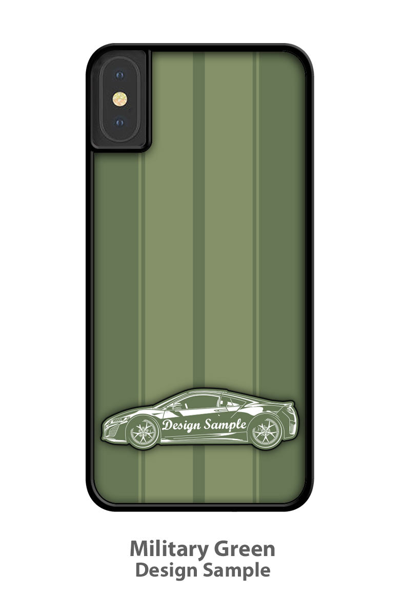 1973 Plymouth Road Runner Coupe Smartphone Case - Racing Stripes