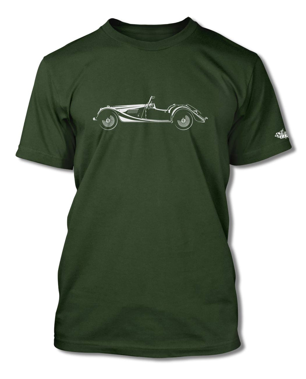 Morgan 4/4 Convertible T-Shirt - Men - Side View