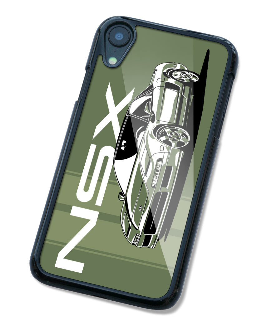 Acura NSX Emblem 3/4 Front Smartphone Case - Racing Stripes