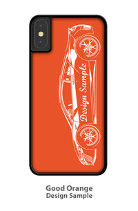 1967 Plymouth Barracuda Coupe Smartphone Case - Side View