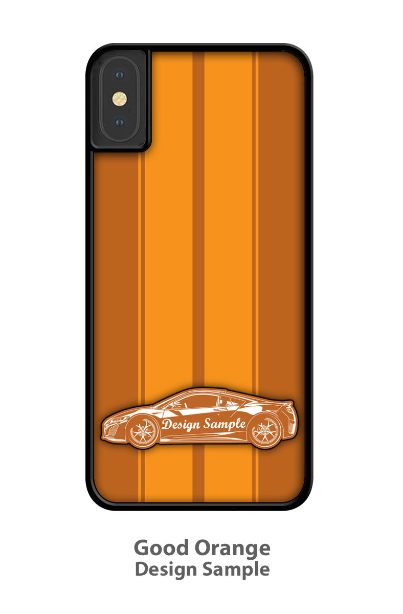 Toyota BJ40 FJ40 Land Cruiser Top Off Smartphone Case - Racing Stripes