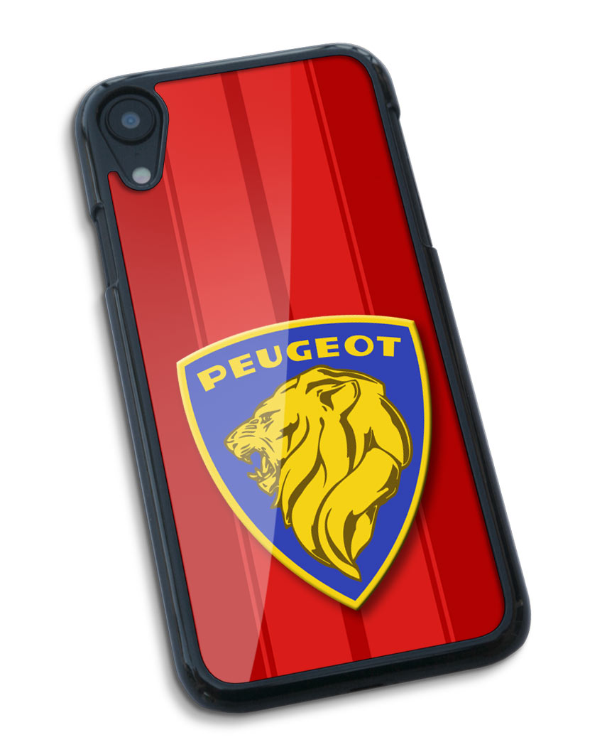 Peugeot Badge Emblem Smartphone Case - Racing Stripes