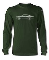 1966 Plymouth Barracuda Fastback T-Shirt - Long Sleeves - Side View