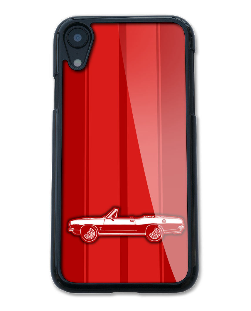 1967 Plymouth Barracuda Convertible Smartphone Case - Racing Stripes