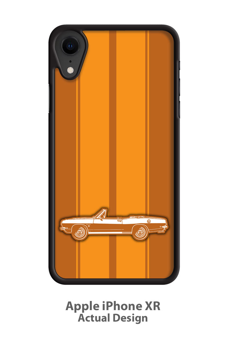 Plymouth Barracuda 1968 Convertible Smartphone Case - Racing Stripes