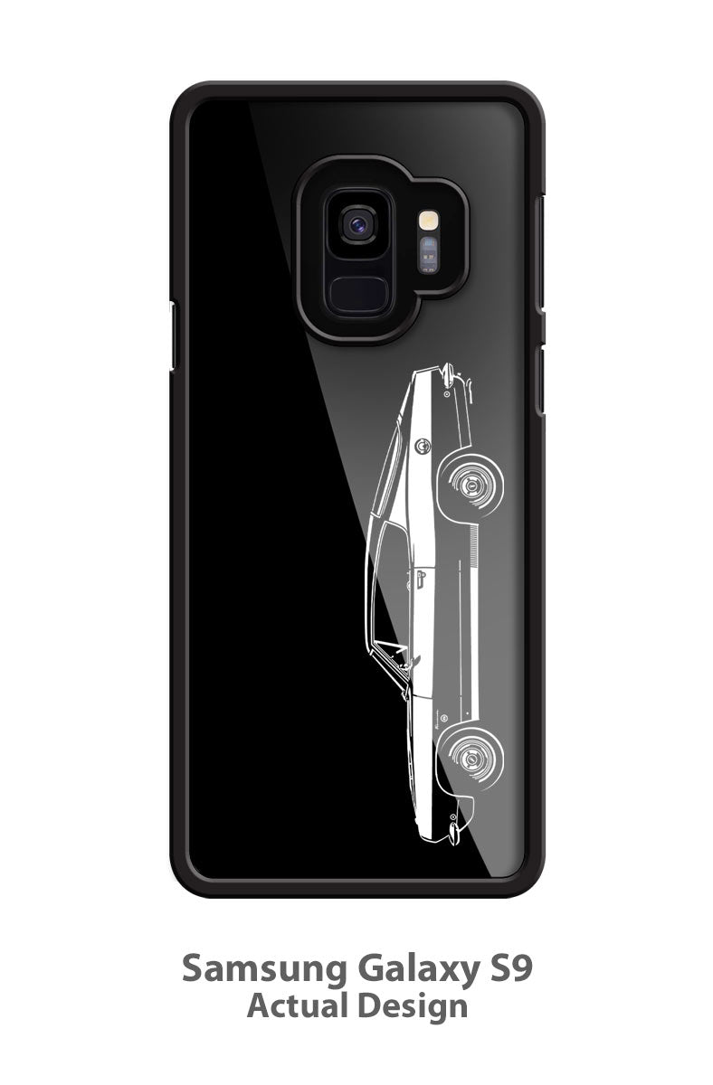 Plymouth Barracuda 1968 Fastback Smartphone Case - Side View