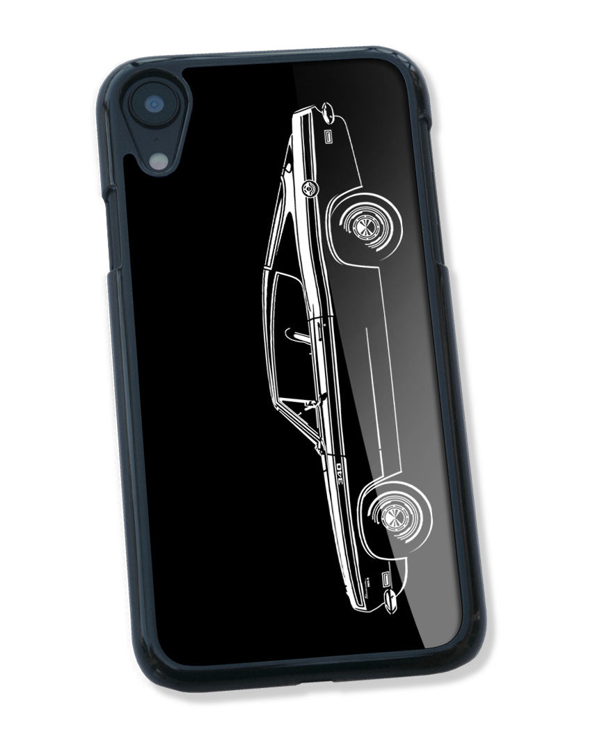 1969 Plymouth Barracuda 340 Fastback Smartphone Case - Side View
