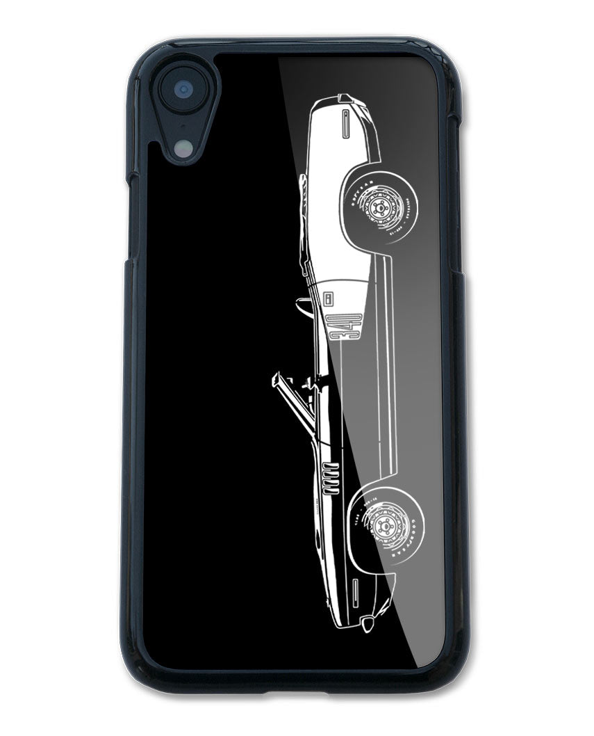 1971 Plymouth Barracuda 'Cuda 340 Convertible Smartphone Case - Side View