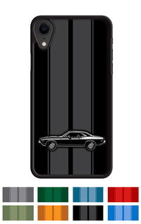 Plymouth Barracuda 'Cuda 1973 Coupe 340 Smartphone Case - Racing Stripes