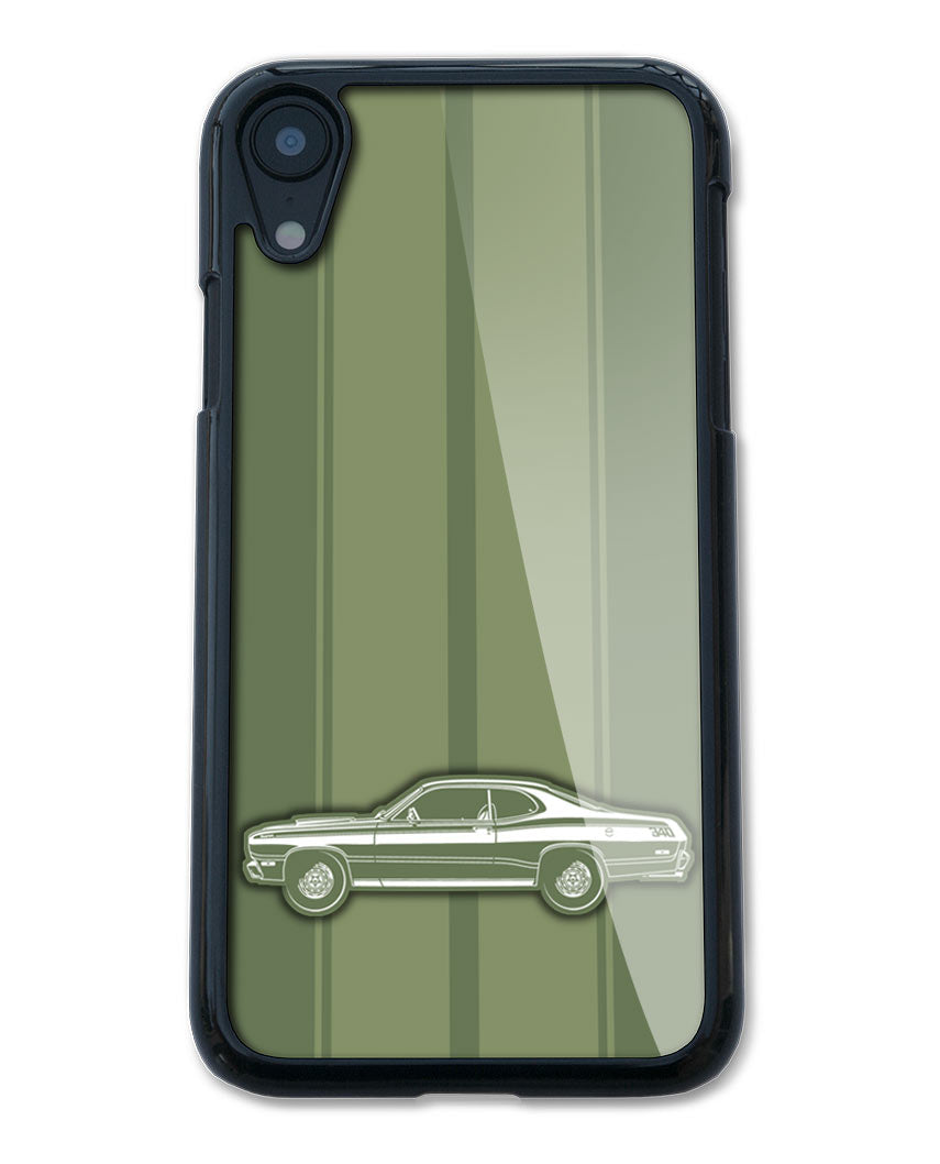 1972 Plymouth Duster Coupe Smartphone Case - Racing Stripes