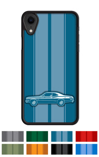 Plymouth Duster 1973 Coupe Smartphone Case - Racing Stripes