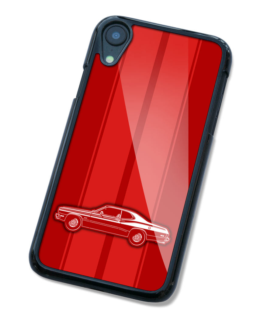 1974 Plymouth Duster Coupe Smartphone Case - Racing Stripes