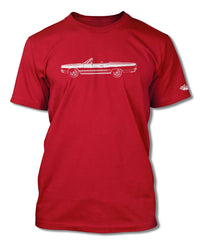 1968 Plymouth GTX Convertible T-Shirt - Men - Side View