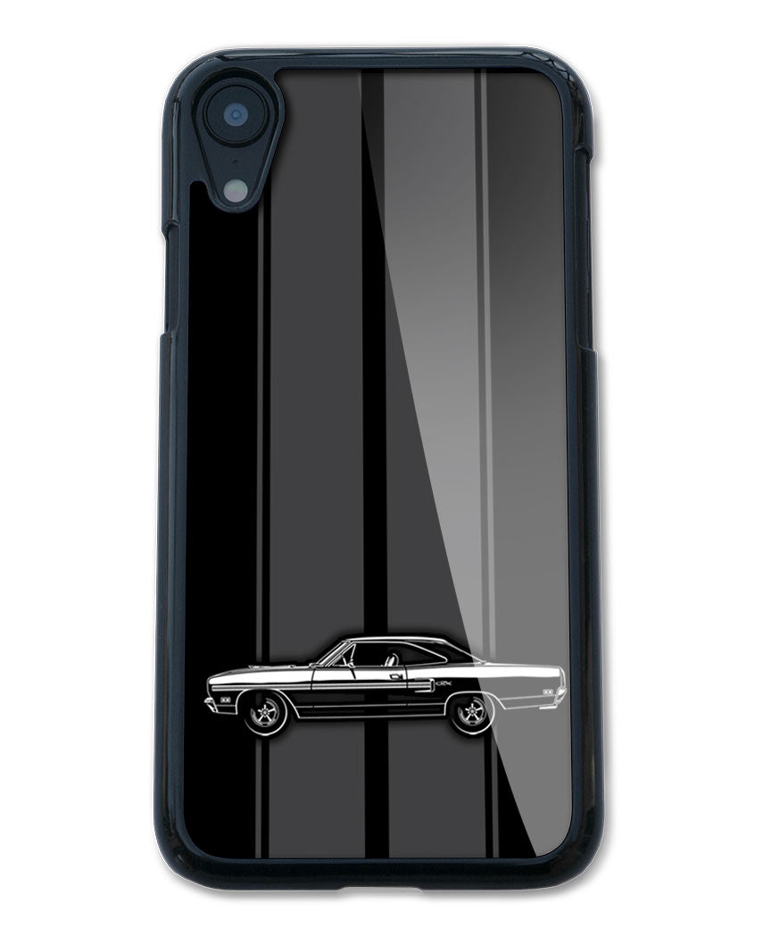 1970 Plymouth GTX Coupe Smartphone Case - Racing Stripes