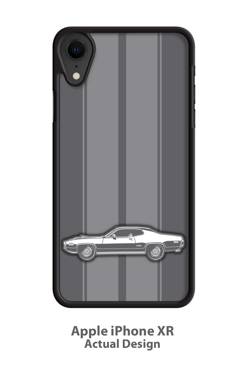 Plymouth GTX 1971 440-6 Coupe Smartphone Case - Racing Stripes