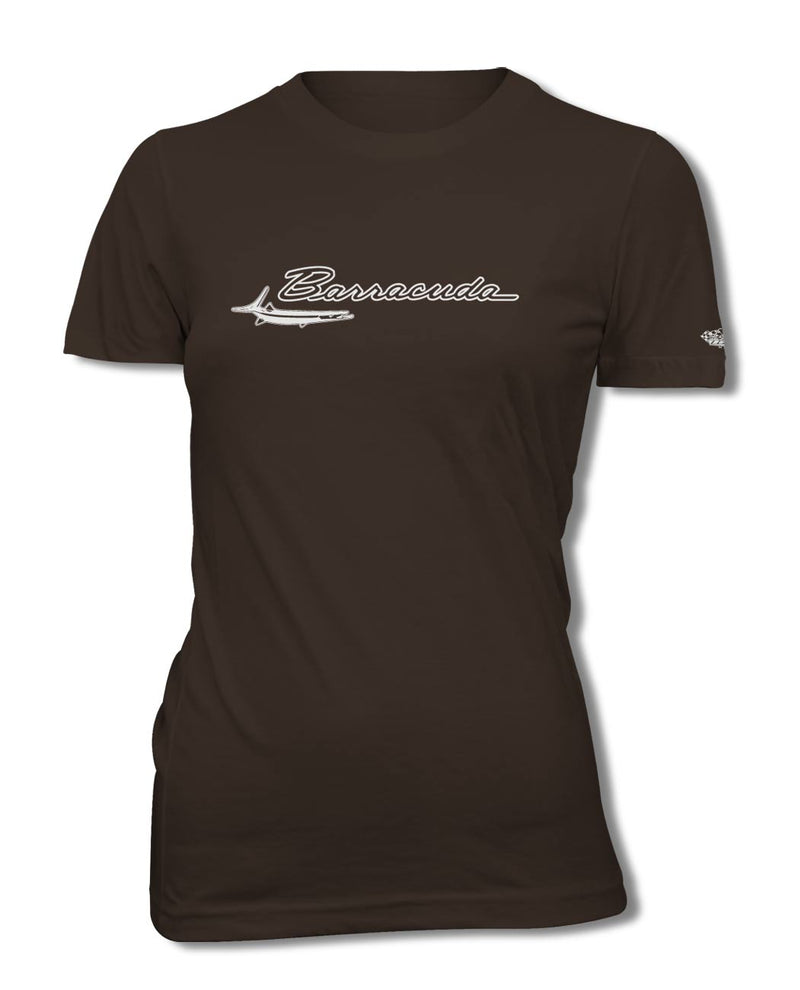 1964 - 1969 Plymouth Barracuda Emblem T-Shirt - Women - Emblem