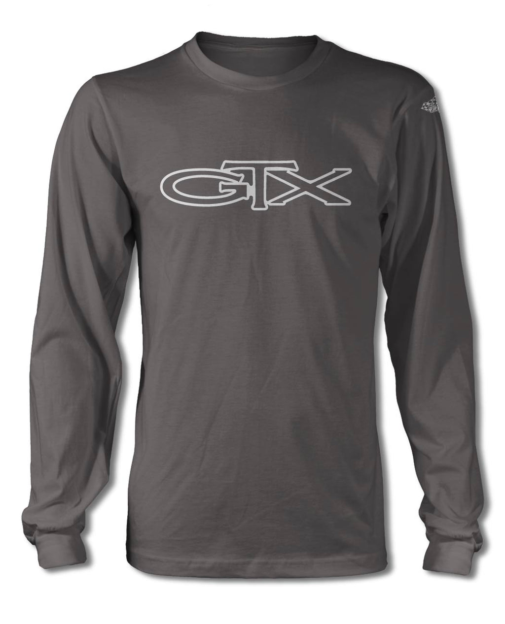 1967 - 1971 Plymouth GTX Emblem T-Shirt - Long Sleeves - Emblem