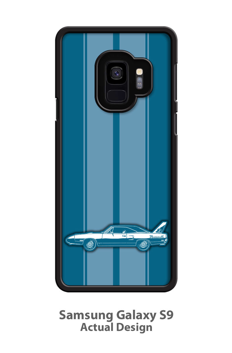 Plymouth Road Runner Superbird 1970 Coupe Smartphone Case - Racing Stripes