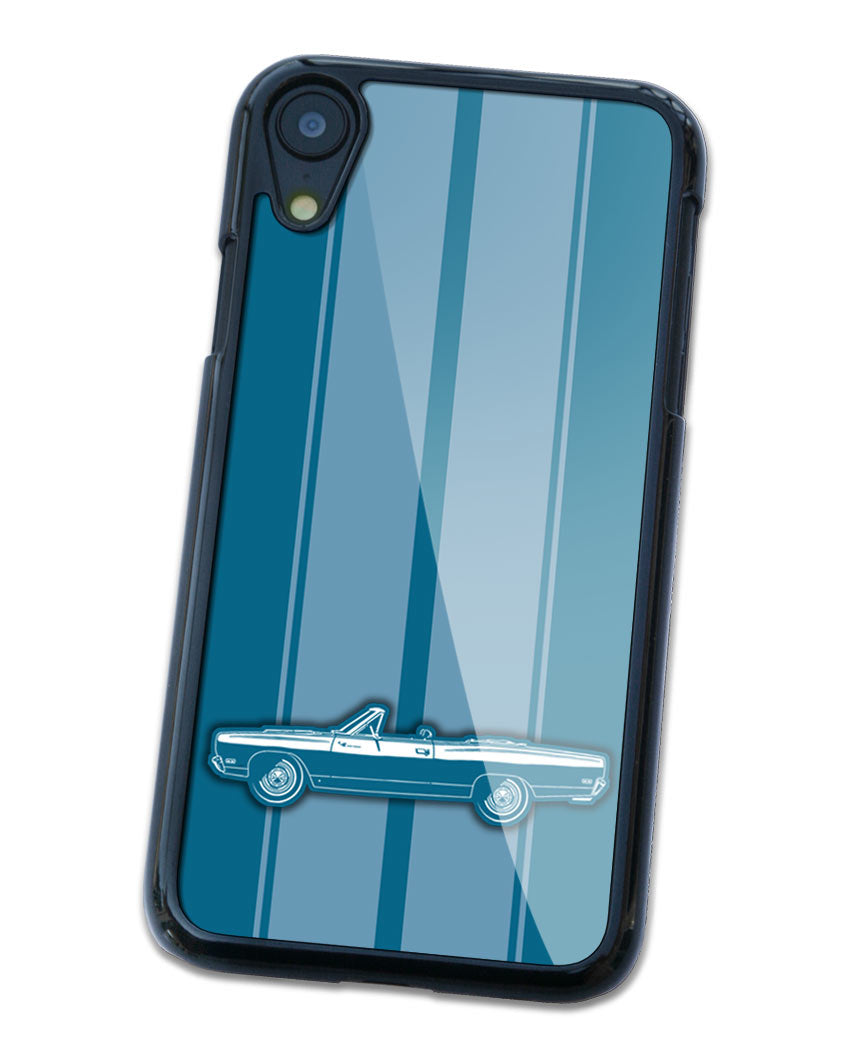 1969 Plymouth Road Runner Convertible Smartphone Case - Racing Stripes