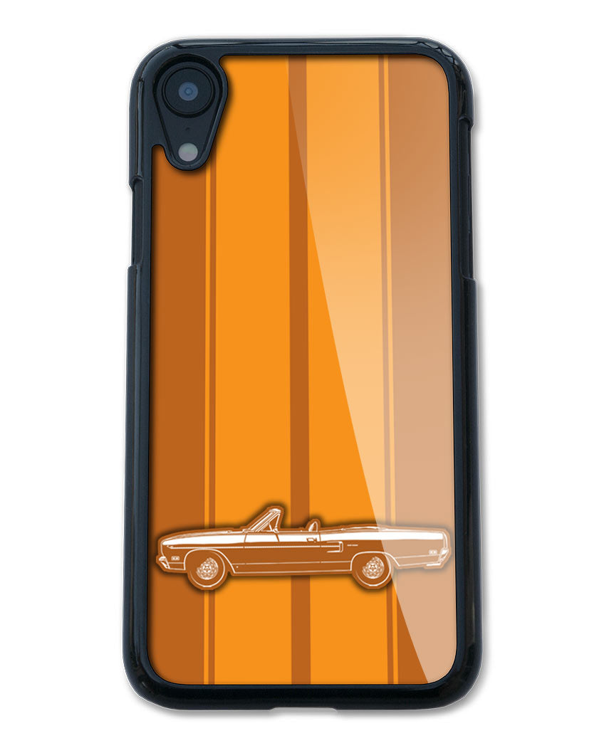 1970 Plymouth Road Runner Convertible Smartphone Case - Racing Stripes