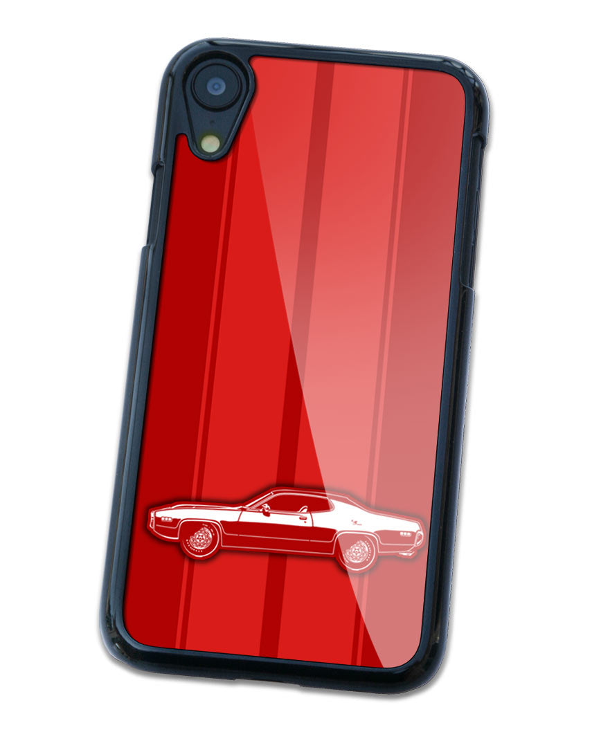 1971 Plymouth Road Runner Coupe Smartphone Case - Racing Stripes