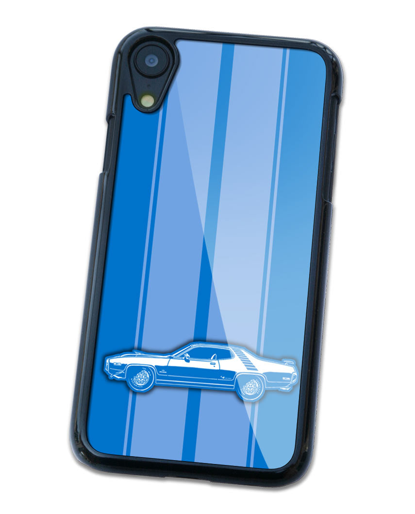 1972 Plymouth Road Runner 440 Coupe Smartphone Case - Racing Stripes